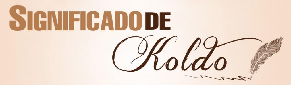 Significado de Koldo
