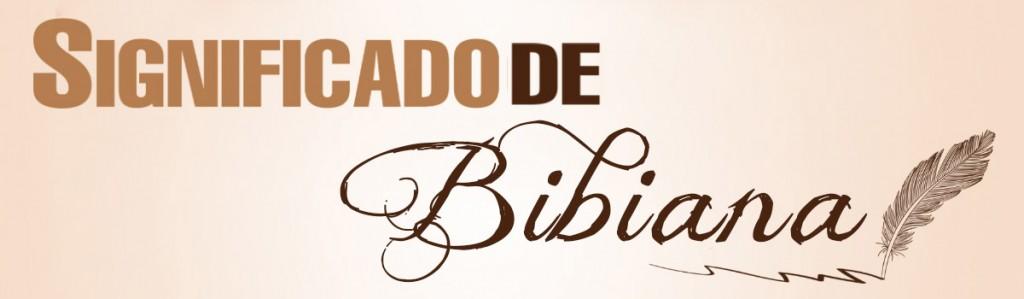Significado de Bibiana
