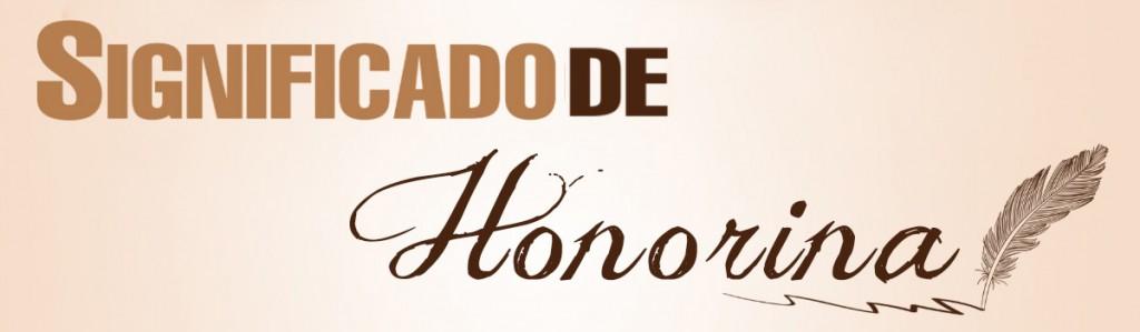 Significado de Honorina